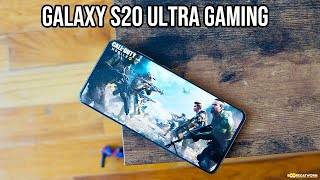 Galaxy S20 Ultra Gaming | PubG & COD Mobile First-Look!!!!
