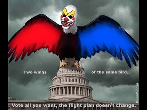 Republican VS Democrat There Is No Difference The Left Right Paradigm Is Over Its You vs Corporation