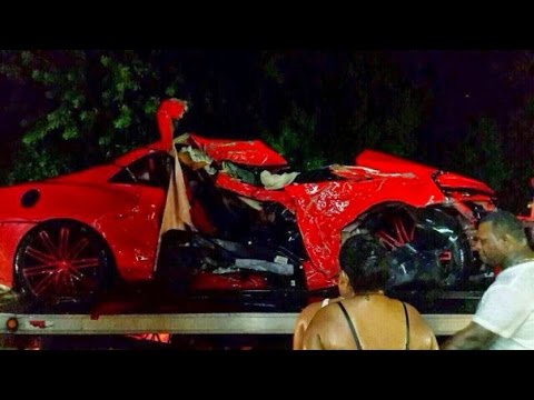 Jose Car Accident Baseball