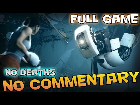 Portal 2 - Full Game Walkthrough - 【NO Commentary】
