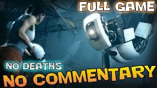 Portal 2 - Full Walkthrough - 【NO Commentary】 【Full HD】