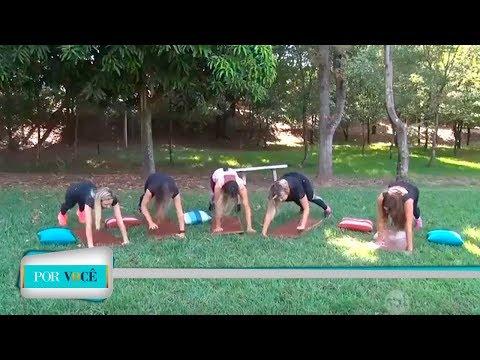 Por Você - Atividade Física: Exercícios básicos 28/04/18