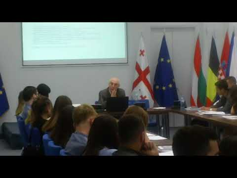 "EU NATO INFO CENTER Tbilisi ""Foreign Policy Issues in the Founding Assembly of Georgia"""
