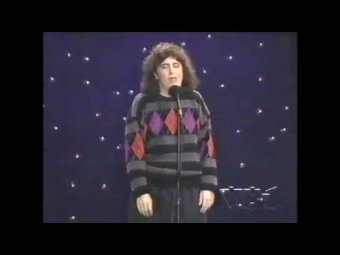 Rosie O'donnell s Henriette Mantel Stand up Spotlight comedy  1991