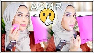 ASMR Relaxing Makeup Tutorial   Amena