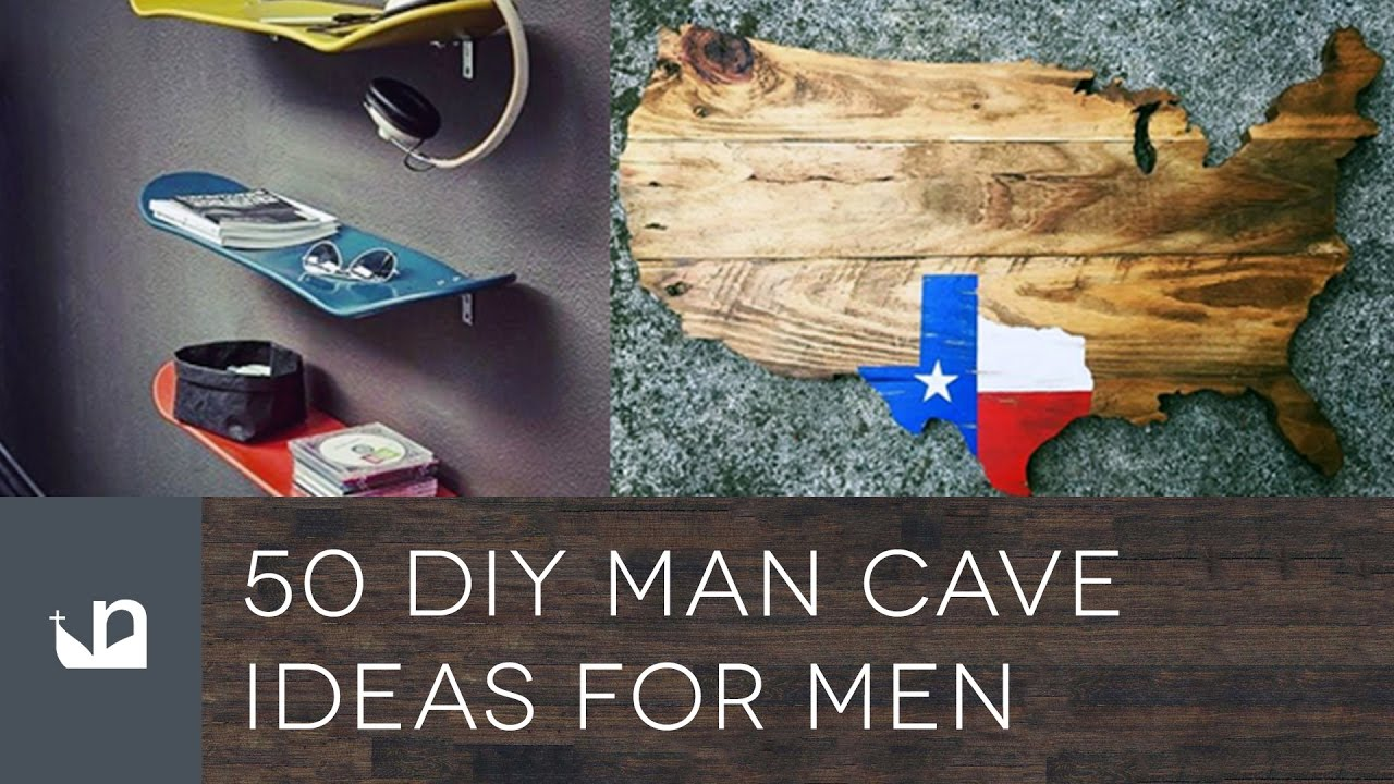 Man Cave Building Ideas : Diy man cave ideas for men youtube