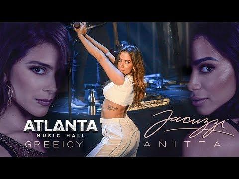 Anitta JACUZZI ao vivo no Atlanta  Hall em Goiânia 09122018