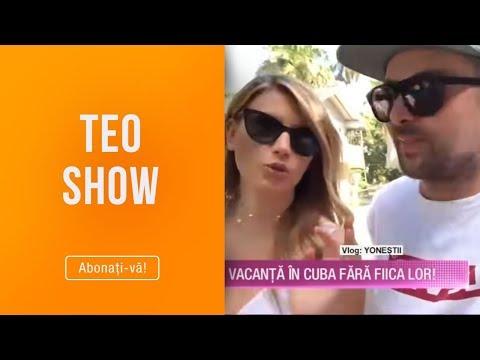 Teo Show (04.02.) - Yonestii, vacanta in Cuba fara fiica lor! Cum s-au distrat si cat au cheltuit?