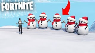 ADIVINA LA SKIN WITHIN THE *NEW* NIEVE MAN!! 😂⛄ Fortnite Battle Royale