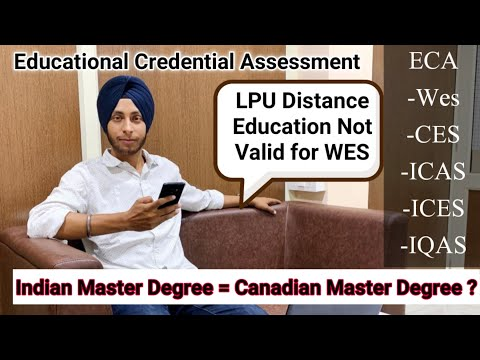 ECA | Indian Master Degree = Canadian Master Degree? | Canada PR | WES | Express Entry 2020 |