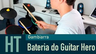 Gambiarra: Bateria do Guitar Hero