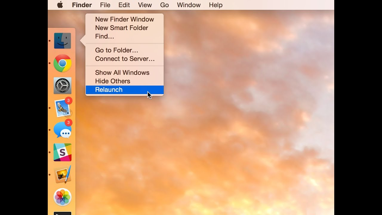 4 Ways to Restart the Mac Finder