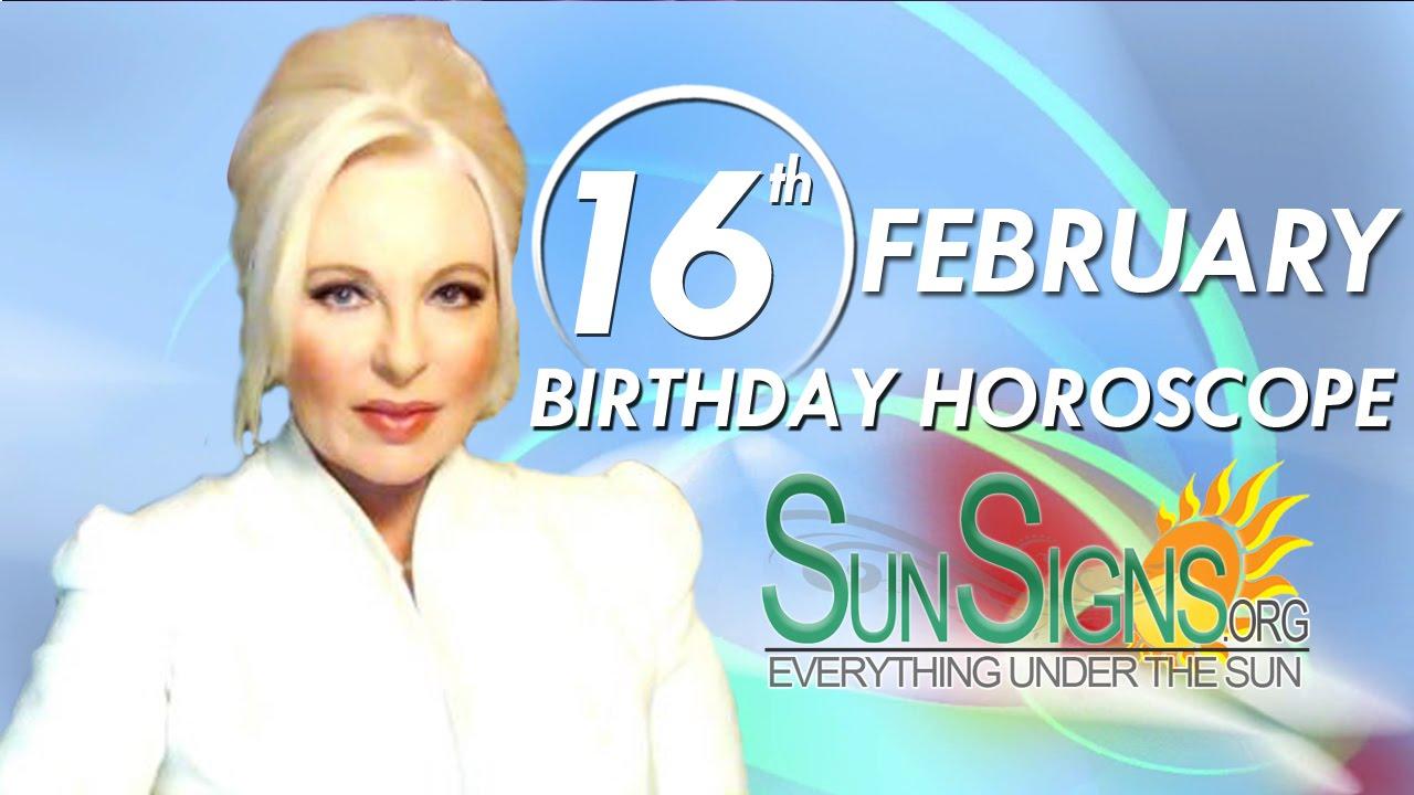 horoscope born february 16