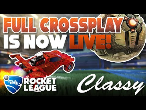 ROCKET LEAGUE NEWS | FULL CROSS-PLAY IS LIVE! | ROCKET ID COMING SOON thumbnail