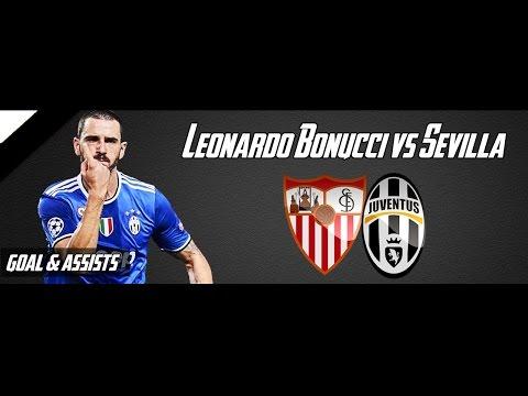 Leonardo Bonucci vs Sevilla | UEFA Champions League | 22.11.2016 | 1080 HD