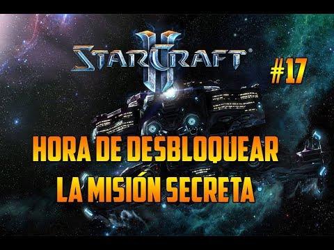 STARCRAFT 2 - HORA DE DESBLOQUEAR LA MISIÓN SECRETA - CAMPAÑA WINGS OF LIBERTY - GAMEPLAY ESPAÑOL