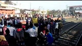 Railway Group D के परिणाम को लेकर Jaipur में भी विद्यार्थीयो का भारी आक्रोश