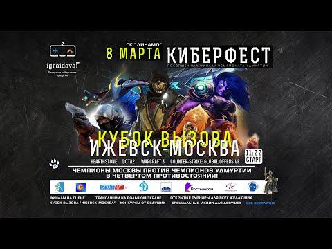 Кубок вызова Ижевск - Москва 08.03.2020