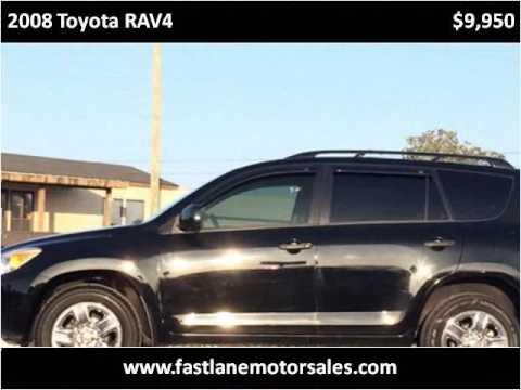 2008 Toyota RAV4 Used Cars Athens AL