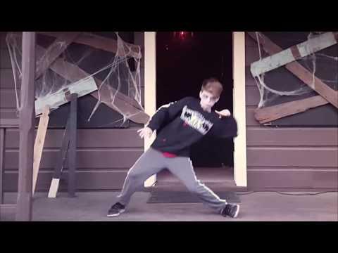 Merrick's Zombie Dance!  Happy Halloween!