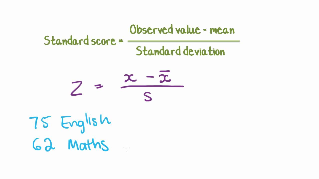 Z-Scores  Mathematics for the Liberal Arts