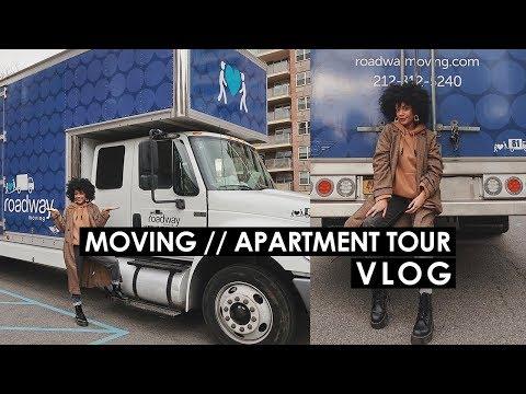 I'M MOVING!! + EMPTY APARTMENT TOUR Vlogmas Day IDK