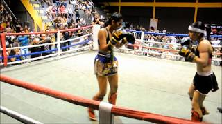 THAI KIDS 2 -  15/09/2012 LUTA FEMININA NA CAT. 53KG.