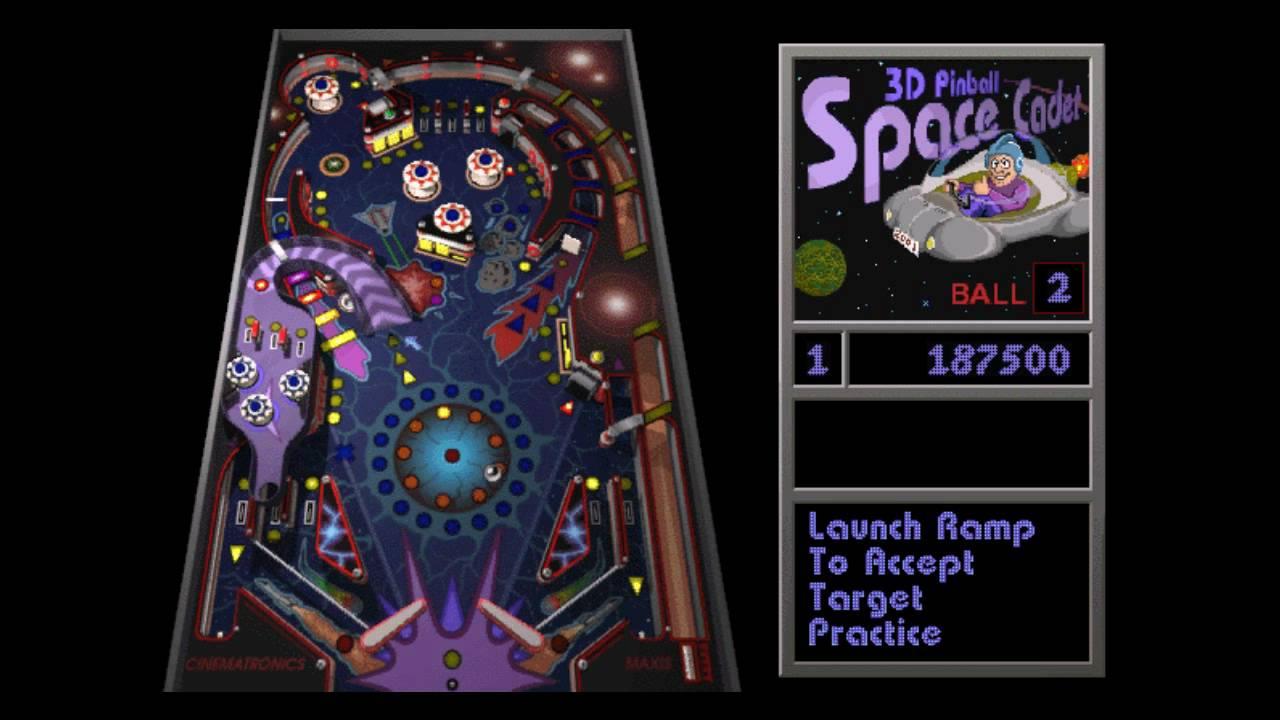 Windows XP Pinball Game 1 - YouTube