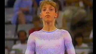 1992 Olympics - Gymnastics - Team Final Part 4 ....a different perspective....