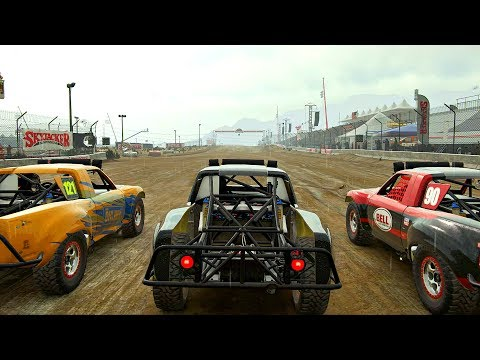 DiRT 4 - Career Mode Gameplay  - Land Rush (Jackson Pro-Truck 2)