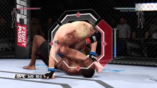 UFC DEMO 2015 PS4 Gameplay Jones vs Gustafsson Best Fight Ever [HD]