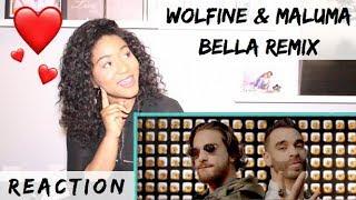 Bella Remix - Wolfine y Maluma (Video Oficial) | REACTION
