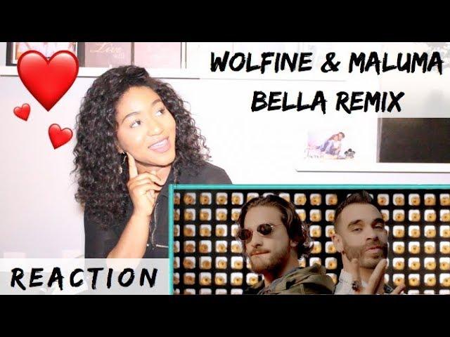 Bella Remix - Wolfine y Maluma (Video Oficial) | REACTION #1