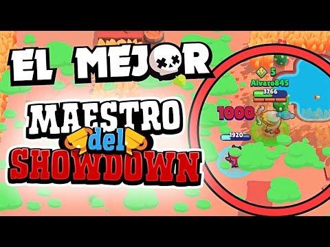 EL MEJOR MAESTRO DEL SHOWDOWN HASTA LA FECHA ¡¡PARTIDAS INTENSAS!! | Brawl Stars