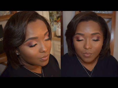 Any Occasion Soft Glam Makeup | WOC Client Tutorial |  Lydia J thumbnail