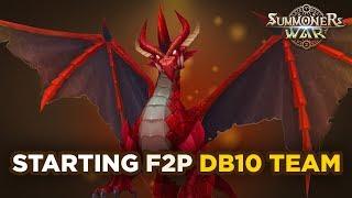 Starting Free to Play Dragons B10 Team!