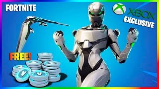 NEW XBOX EXCLUSIVE BUNDLE! *THE EON BUNDLE* FREE SKIN VBUCKS & MORE! (FORTNITE BATTLE ROYALE)