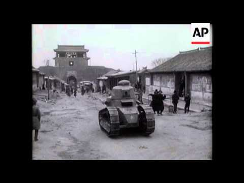 Fighting Breaks Out Again In Manchuria