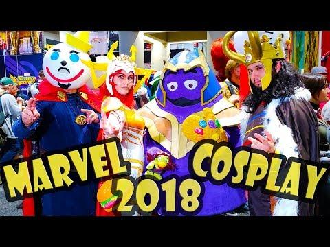 Best Marvel Cosplay - Comic Con 2018