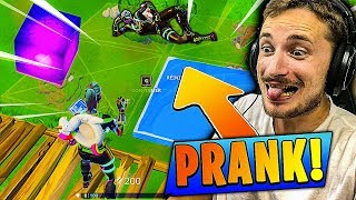 JE PRANK UNE FILLE SUR FORTNITE BATTLE ROYALE !!!