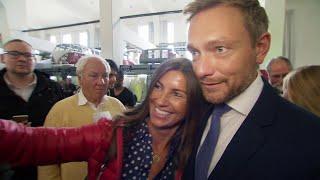 Kampf um Platz 3: Unterwegs mit FDP-Chef Christian Lindner