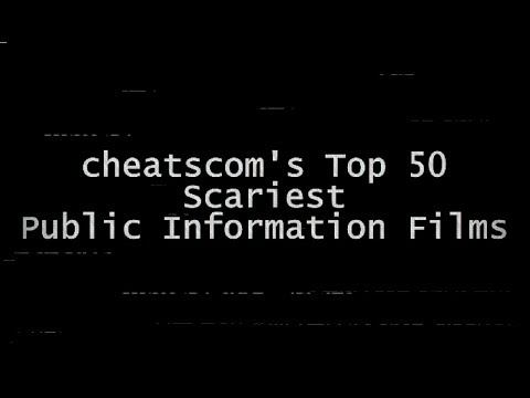 My Top 50 SCARIEST Public Information Films!
