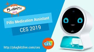 Pillo Health makes managing your medication regiment easier and safer @ CES 2019