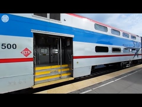 360° Video - Music City Star at Martha, Tennessee Station