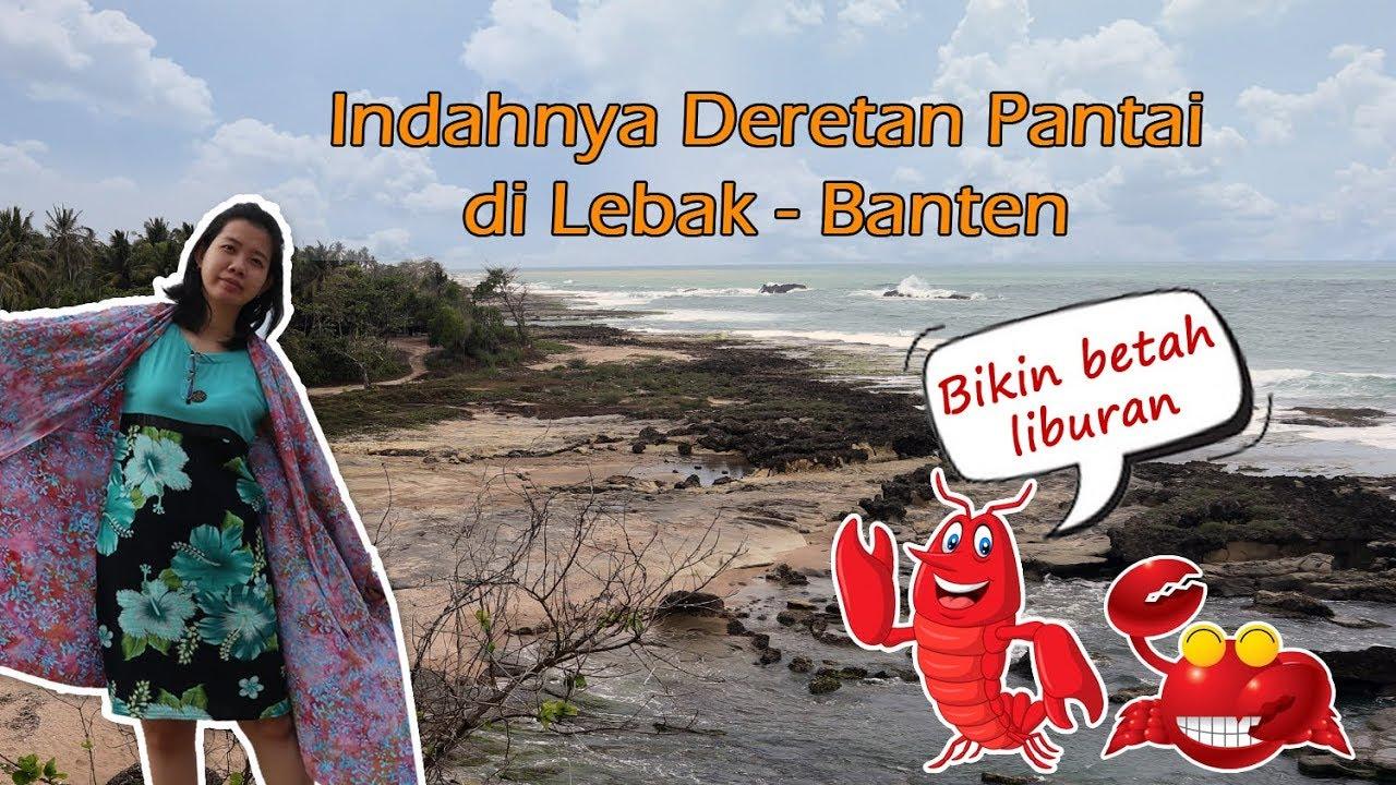 Wisata Pantai di Lebak Banten - YouTube