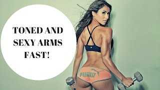 Arm Workout For Women //  Toned & Sexy Arms Fast!
