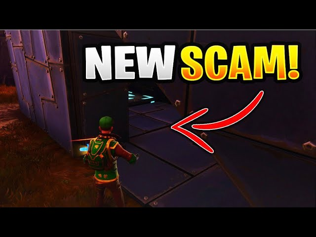 0% of People Remember This Scam! (Scammer Gets Scammed) Fortnite Save The World
