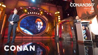 CONAN360°: Andy Richter's Lectern Tenant