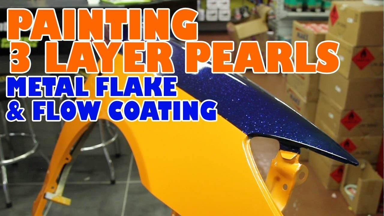 Remove Spray Paint From Car >> Pearl, metal flake and flow coating - YouTube