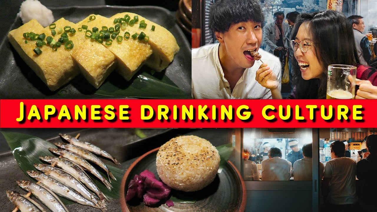 How To Drink & Eat Like A Local in Japan 🥟 TOKYO FOOD & BAR TOUR